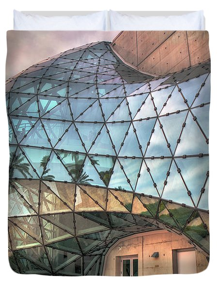 The Dali Museum St Petersburg Duvet Cover