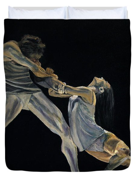 The Dance Duvet Cover by James Kruse