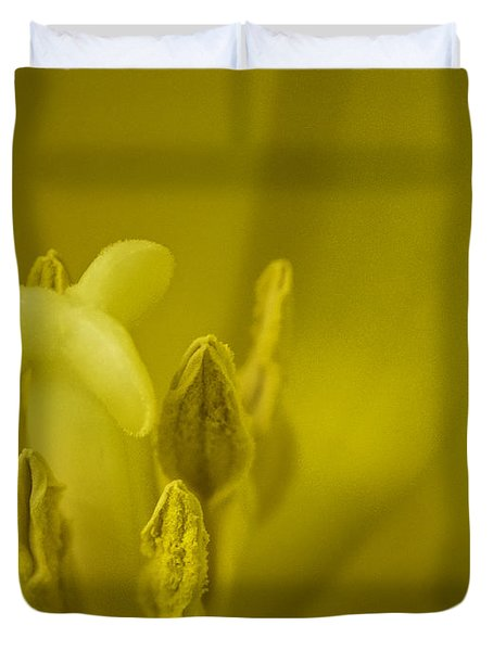 Duvet Cover featuring the photograph The Dance by Lucinda Walter