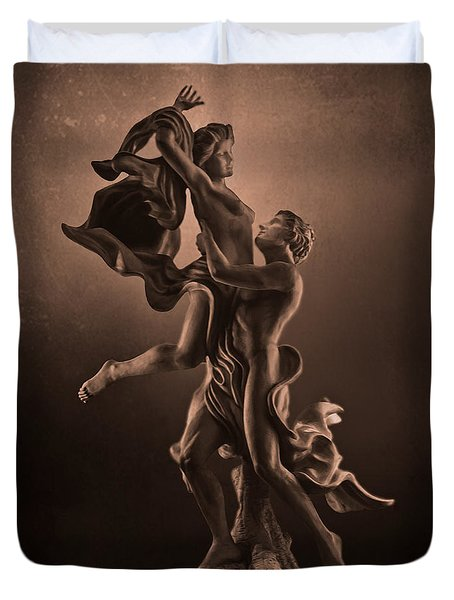 The Dance Of Love Duvet Cover