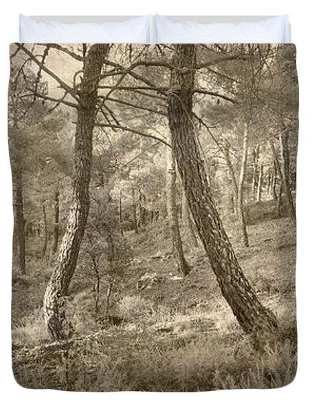 The Dance Of The Forest Duvet Cover by Guido Montanes Castillo