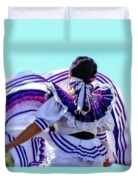 The Dancer Duvet Cover by Menachem Ganon