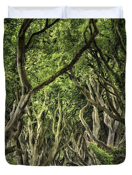 The Dark Hedges Duvet Cover