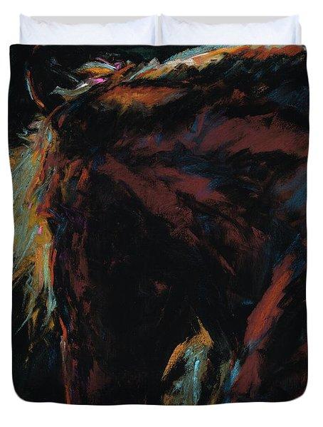 The Dark Horse Duvet Cover