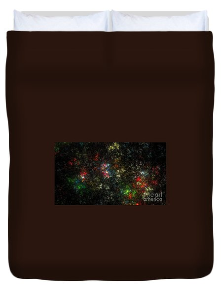 The Dark Side Of Monet Duvet Cover by Peter R Nicholls