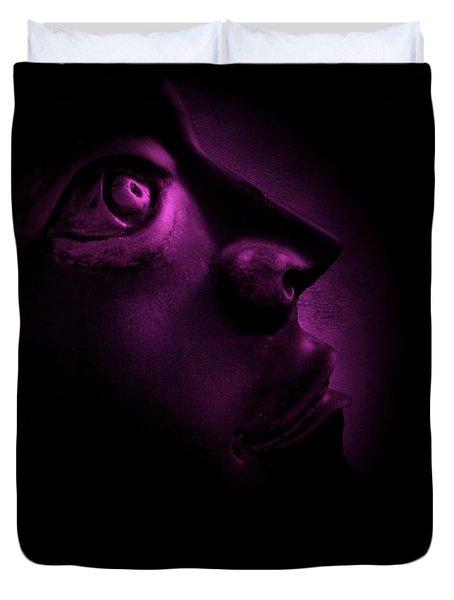 The Darkest Hour - Magenta Duvet Cover