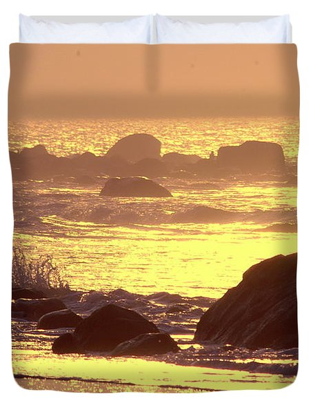 The Dawn Is Breaking  Duvet Cover