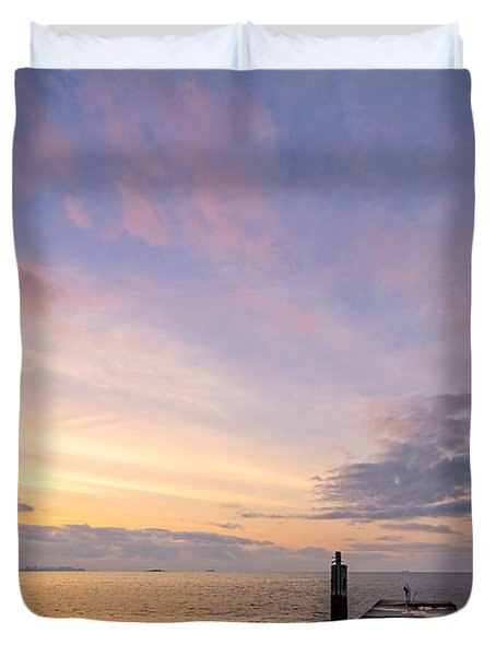The Dawn Of A New Age Duvet Cover
