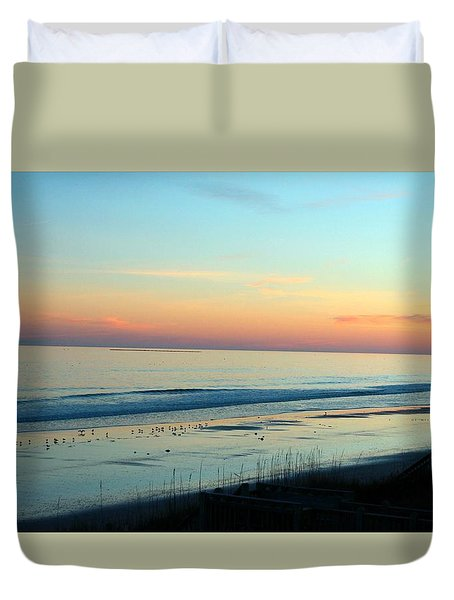 The Day Ends Duvet Cover