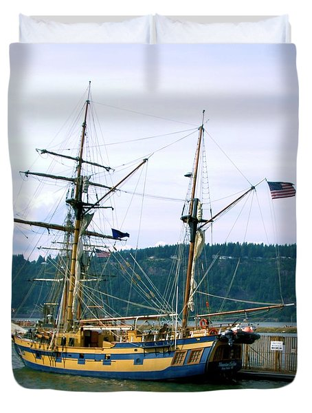 The Days Of Sails Duvet Cover