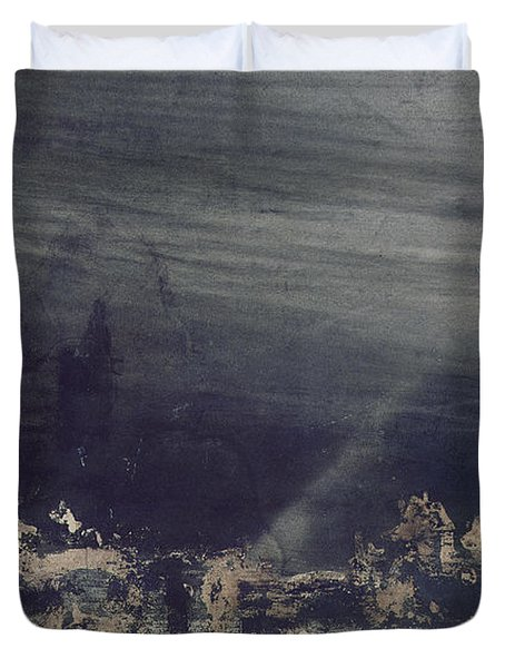The Dead City Duvet Cover by Victor Hugo