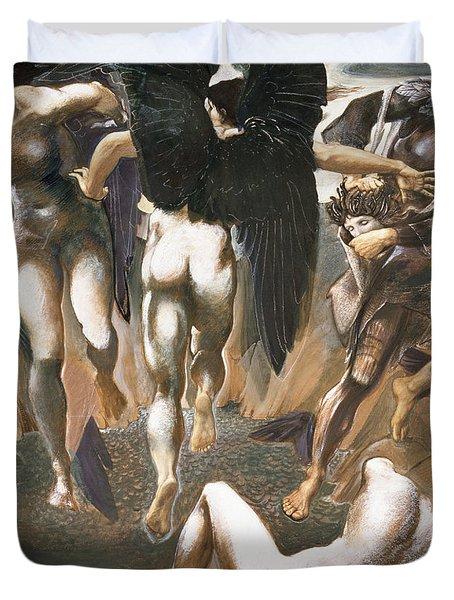 The Death Of Medusa II, 1882 Duvet Cover by Sir Edward Coley Burne-Jones