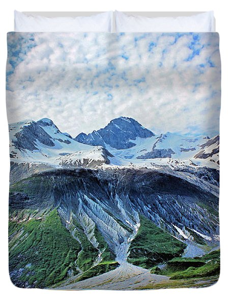 The Definition Is Awesome Duvet Cover by Kristin Elmquist