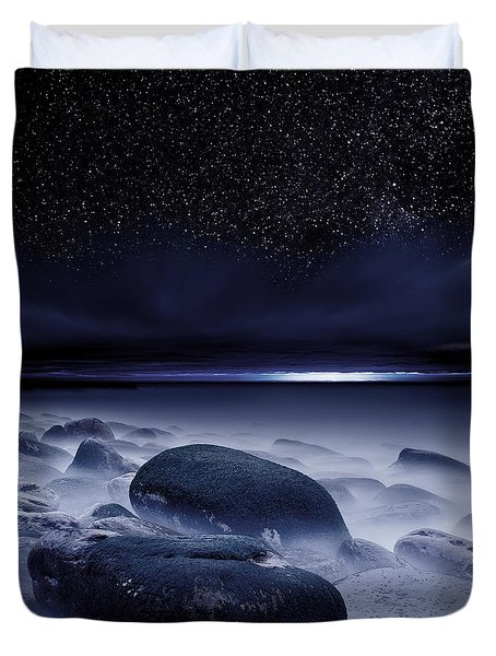 The Depths Of Forever Duvet Cover by Jorge Maia