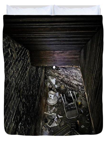 The Descent Duvet Cover by Brett Engle