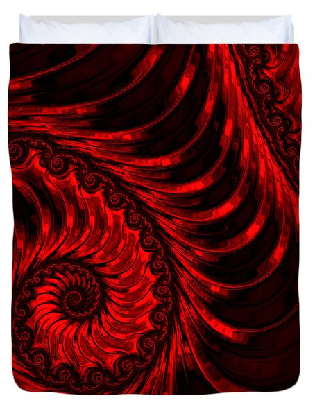The Descent Duvet Cover by Susan Maxwell Schmidt