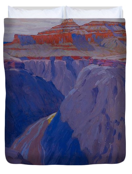 The Destroyer Duvet Cover by Arthur Wesley Dow