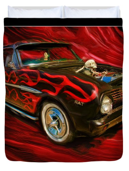 The Devil's Ride Duvet Cover