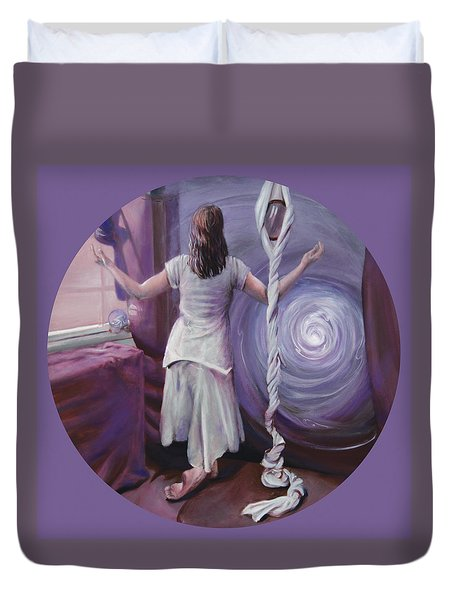 The Devotee Duvet Cover by Shelley Irish
