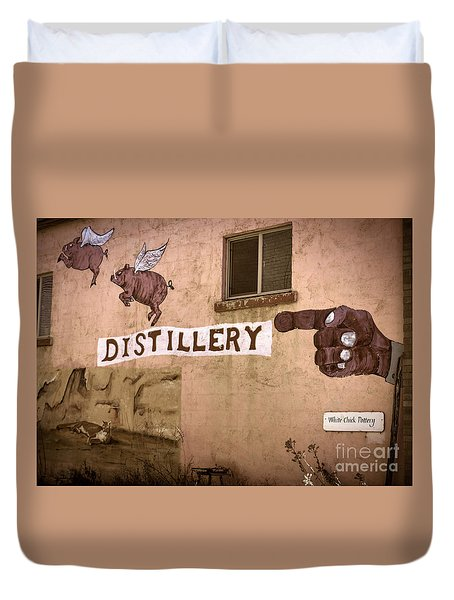 The Distillery Duvet Cover