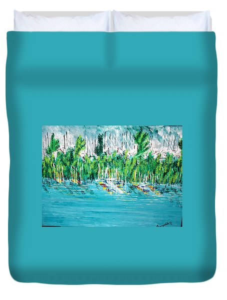 The Docks Duvet Cover