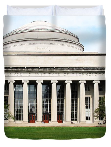 The Dome At Mit Duvet Cover