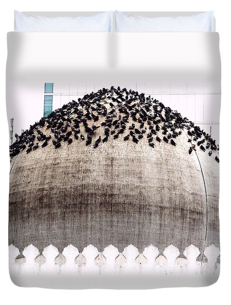 The Dome Of The Mosque Duvet Cover