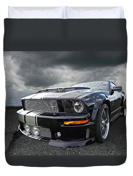 The Dominator - Cervini Mustang Duvet Cover
