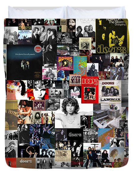 The Doors Collage Duvet Cover