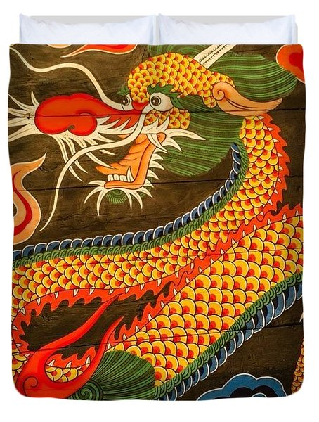 The Dragon Duvet Cover