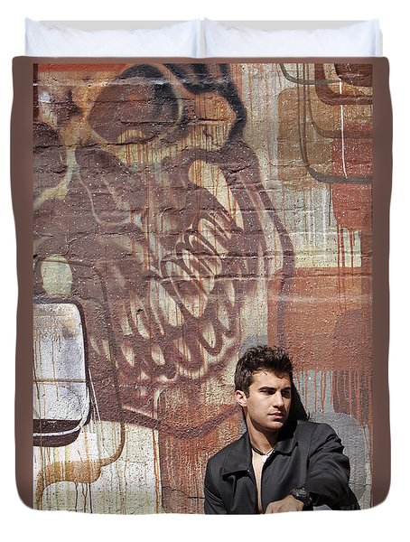 The Dream Killer Duvet Cover by Shoal Hollingsworth