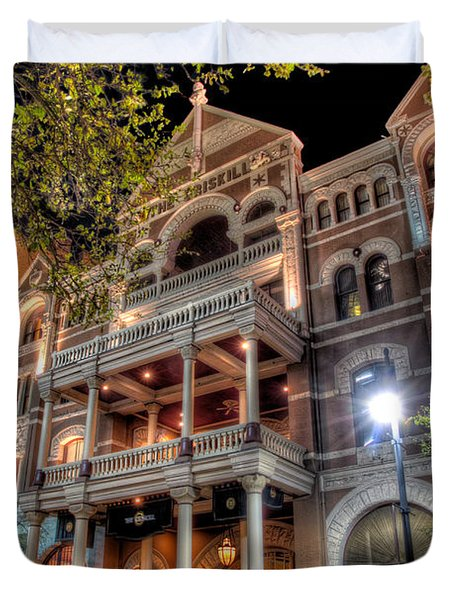 The Driskill Hotel Duvet Cover by Tim Stanley
