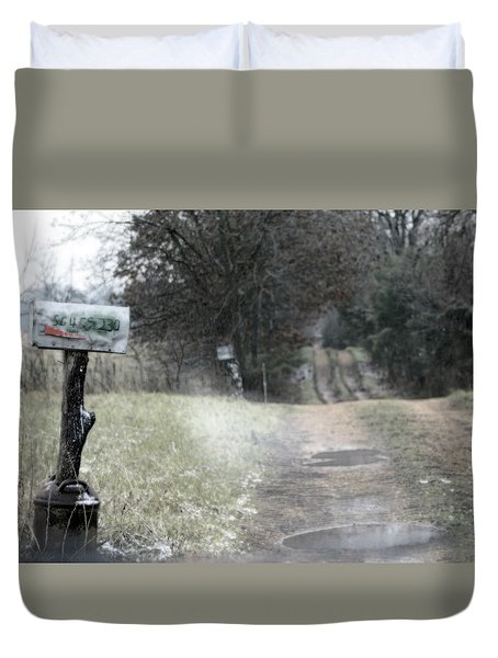 The Drive Home Duvet Cover