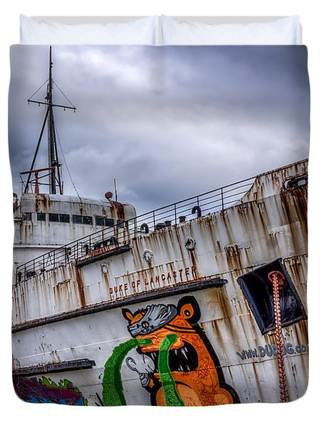 The Duke Of Lancaster Duvet Cover by Adrian Evans