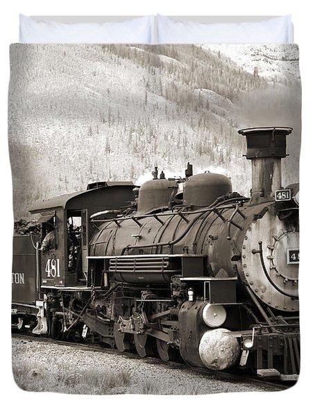 The Durango And Silverton Duvet Cover