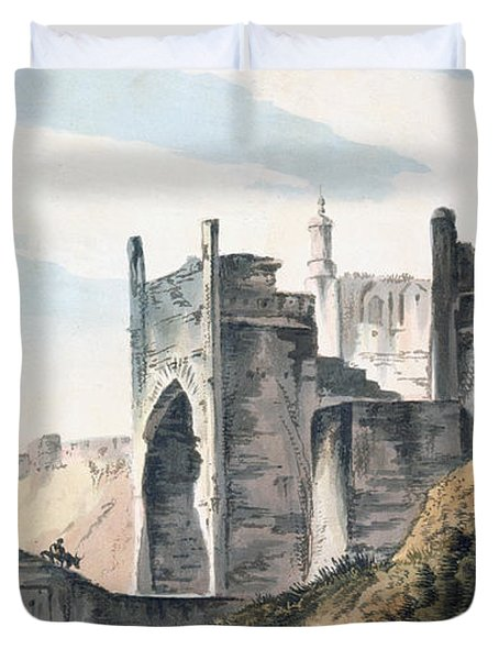 The East End Of The Fort Of Mongheer Duvet Cover