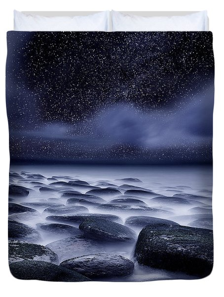 The Edge Of Forever Duvet Cover