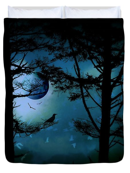The Edge Of Twilight  Duvet Cover