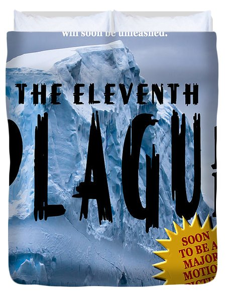 The Eleventh Plague Bookcover Duvet Cover by Mike Nellums