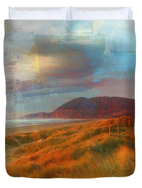 The Elk Trail Duvet Cover