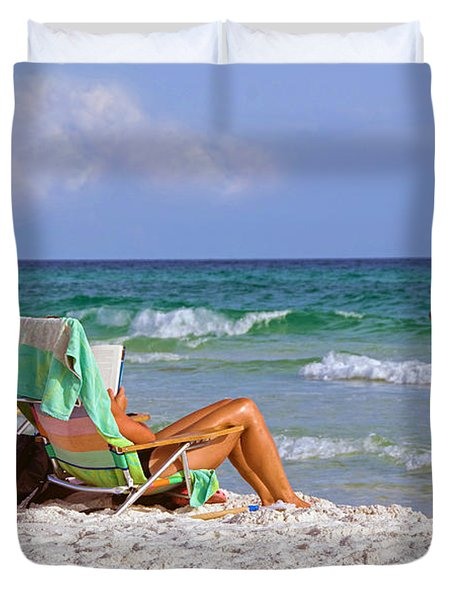 The Emerald Coast Duvet Cover