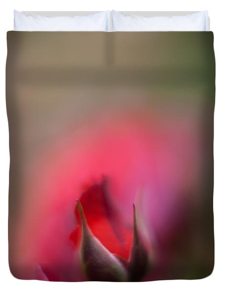 The Emerging Duvet Cover by Mike Reid