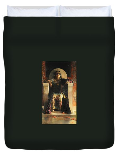 The Empress Theodora Duvet Cover