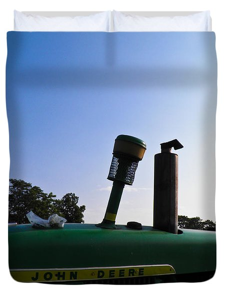 The End Of A Long Day Duvet Cover by Nick Kirby