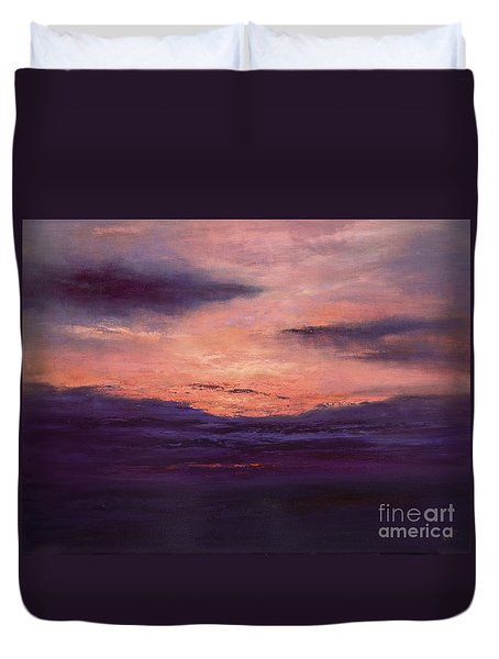 The End Of A Perfect Day Duvet Cover