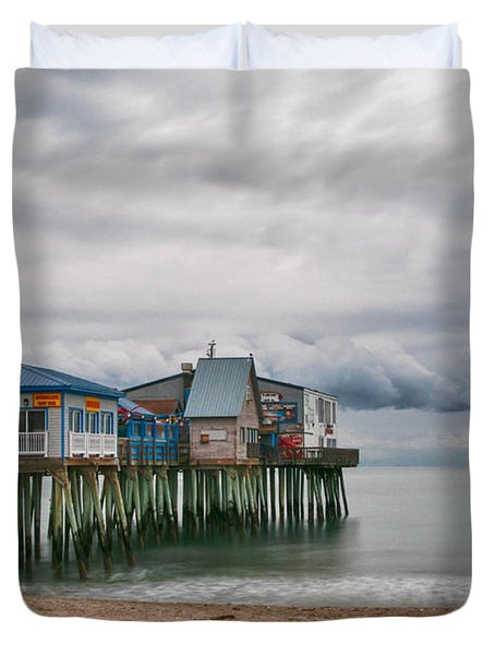 The End Of The Season Duvet Cover by Guy Whiteley