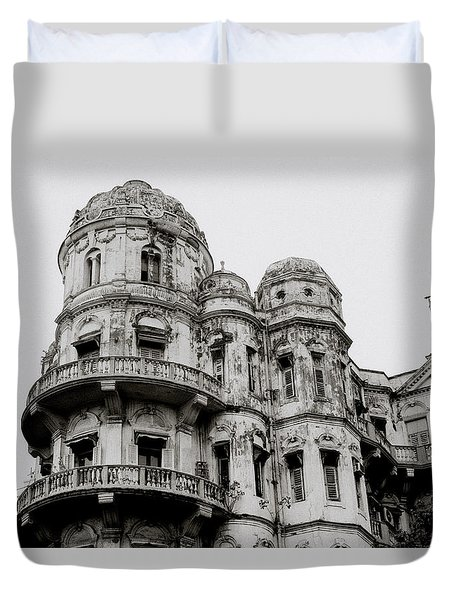The Esplanade Mansions Duvet Cover