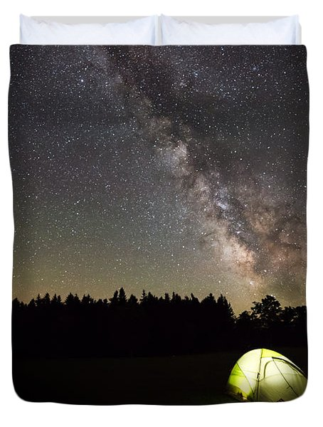 The Explorer  Duvet Cover