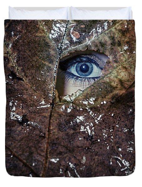 The Eye Duvet Cover by Joana Kruse