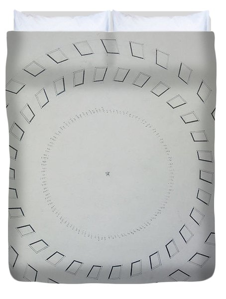 The Eye Of Pi Duvet Cover